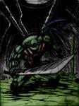 Tmnt Leonardo Sketch By Vass-Comics
