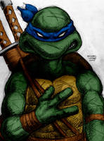 Leonardo By Myconius by Kenkira