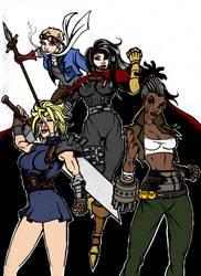 Final Fantasy 7 Gender Swap By Fendiin