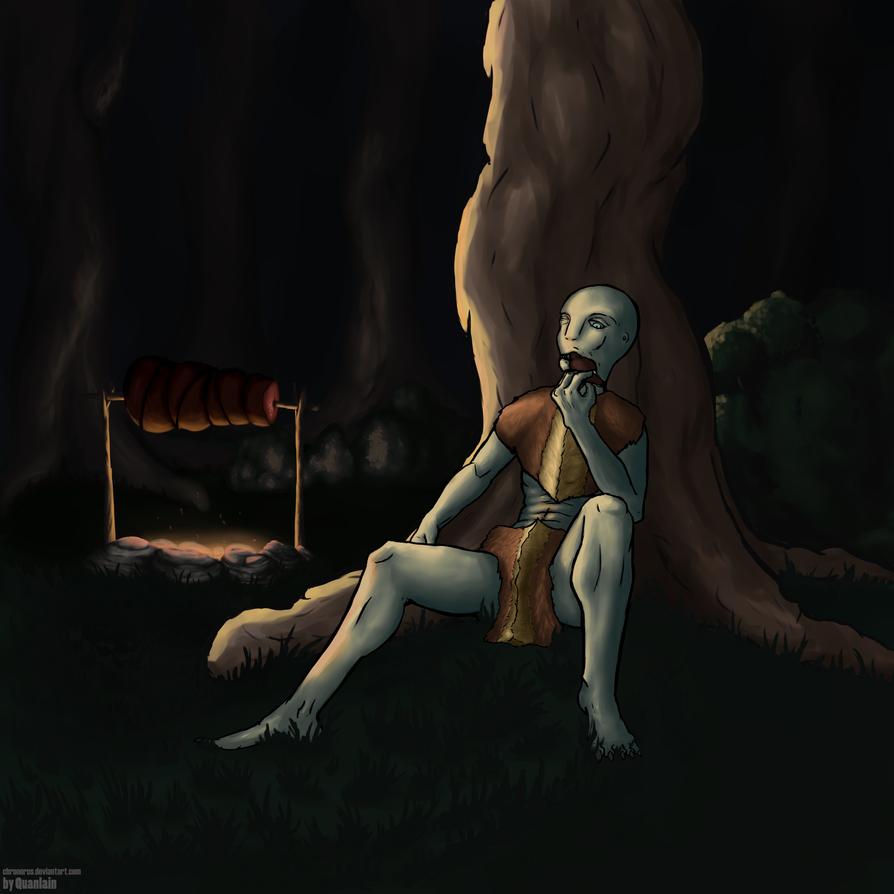 Night Snack by chronoRUS