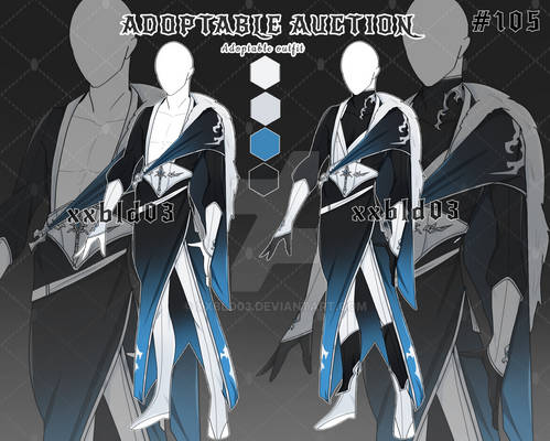[OPEN] AUCTION Adoptable outfit #105
