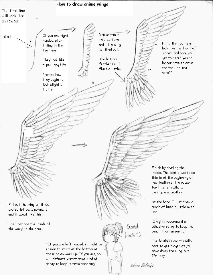 Anime Wing Tutorial by DWolfe06 on DeviantArt