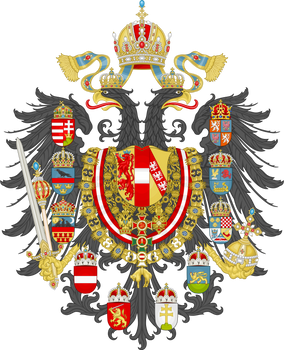Imperial Coat of Arms of Greater Austria