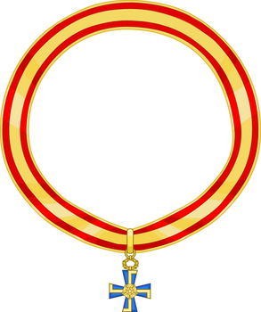 Riband of the Order of the Cross of Liberty