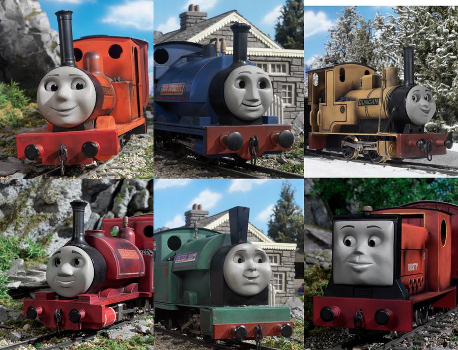 The Skarloey Railway Engines By Damienhawk On Deviantart