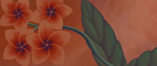 Flower Banner 1 by Misades