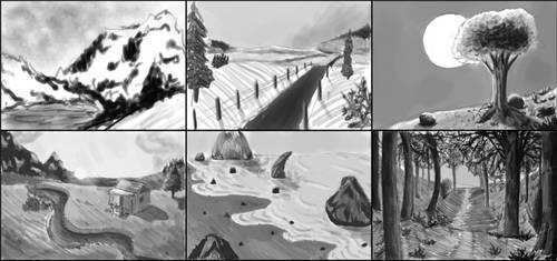 Landscape Studies by Misades