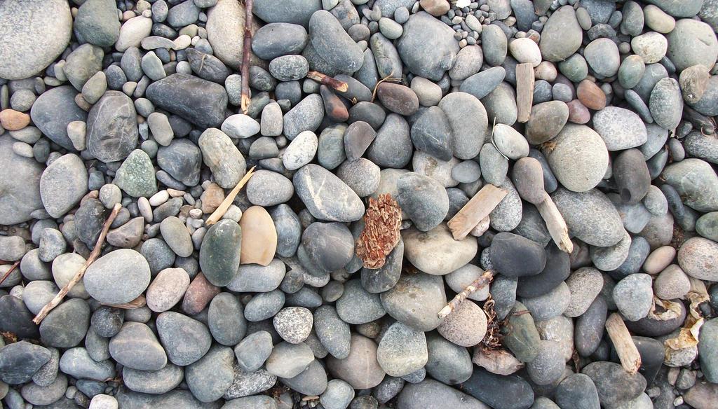 Beach Rocks by SkyfireDragon