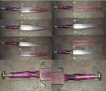 Dagger-Purpleheart and Brass