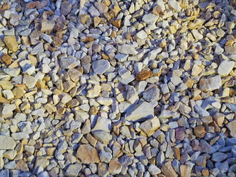 Landscaping rock chips