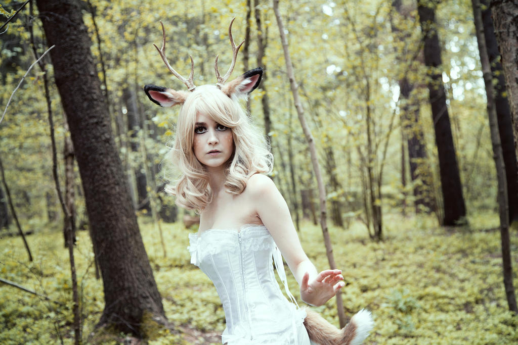 Startled ~ Fawn Shoot ~ by SaicaChii
