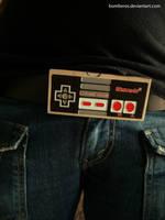 Nintendo Belt Buckle by bomberos