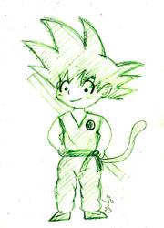 Son Goku by bomberos