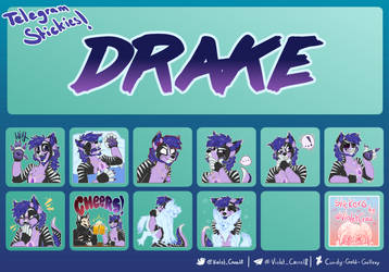 COMMISSION: Drake's Stickers