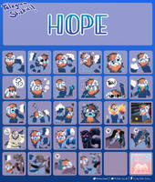 COMMISSION: Hope's Stickers