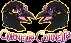 COMMISSION: Cornelia's Badge