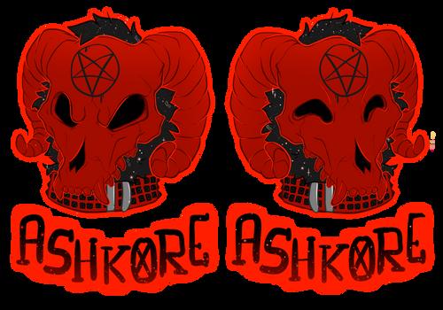 COMMISSION: Ashkore's Badge