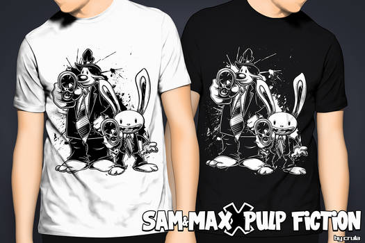 Sam and Max X Pulp Fiction