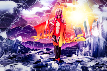 Inori Shattered Horizon by crula