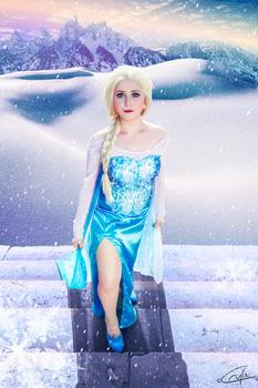Elsa Icy Stairs