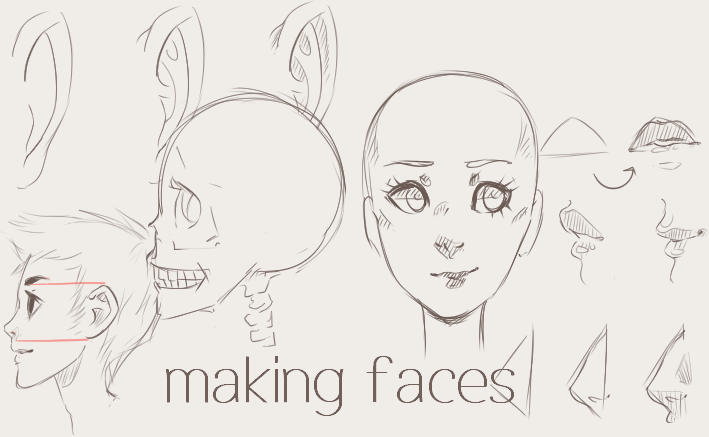 Making Faces (Tutorial) By Twin-tail On DeviantArt