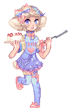 Pastry Lamb for C-C by twin-tail