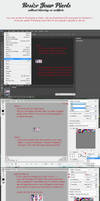 Resize Pixels in PS or Paint Tutorial