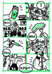 Gibberish #5 page.2 by edenbj