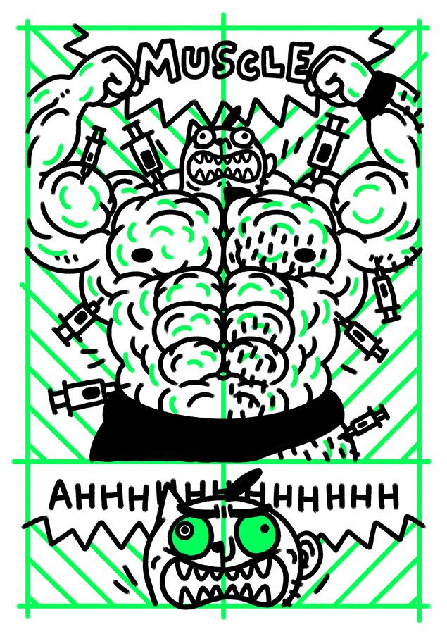 Gibberish #5 page.4 by edenbj