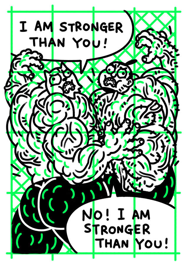 Gibberish #5 page.5