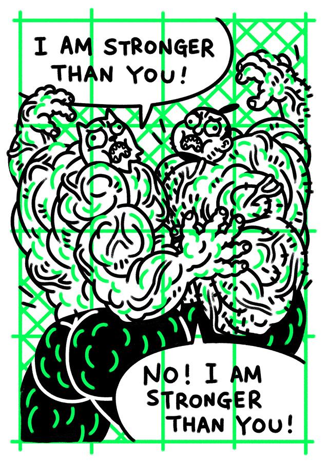 Gibberish #5 page.5 by edenbj