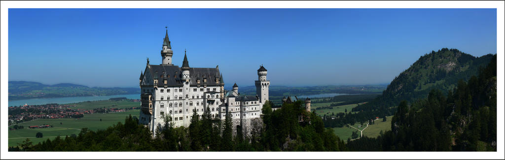 Fairy-tale castle by BPart