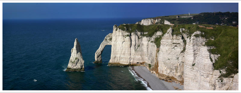 Normandy - White cliffs by BPart
