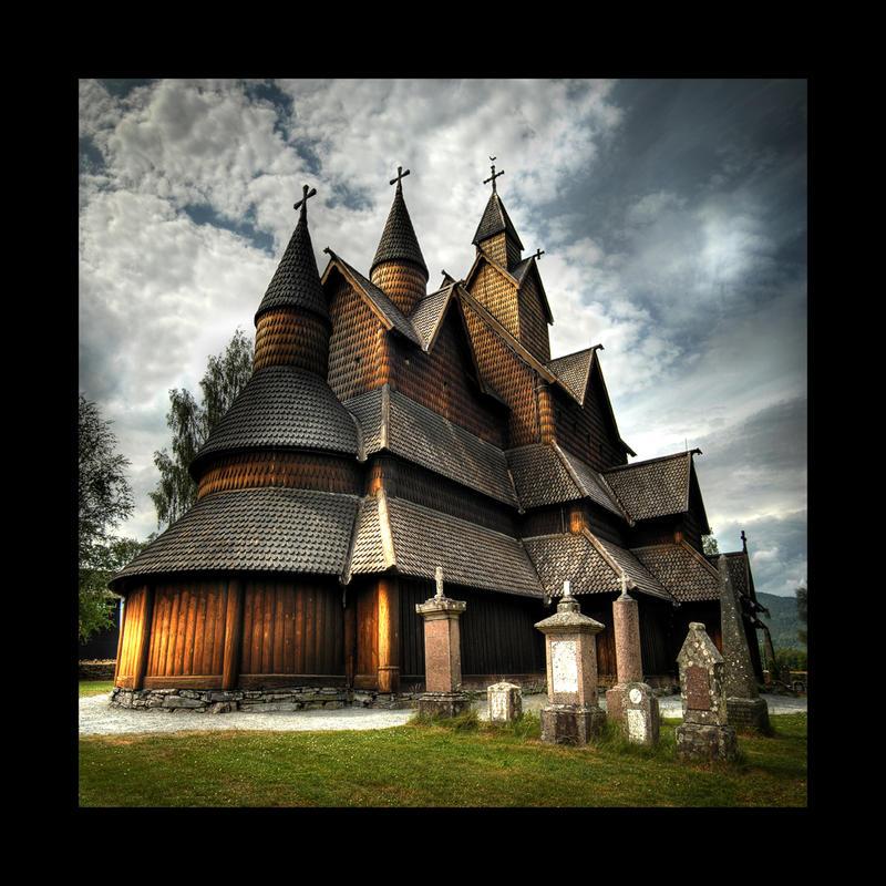 Stavkirke by BPart