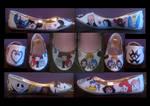 Kingdom Hearts/ Birth By Sleep Shoes