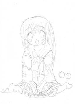 Saigusa  haruka AR sketch