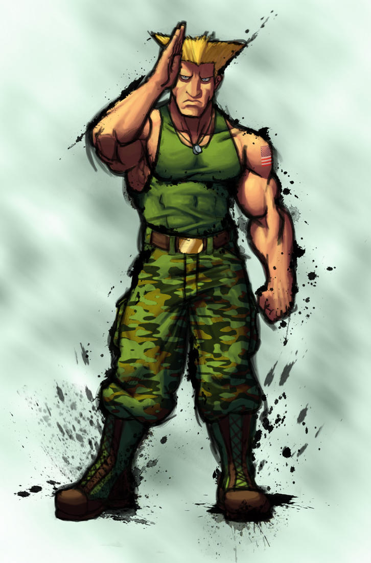 Street Fighter IV: GUILE by Jiggeh