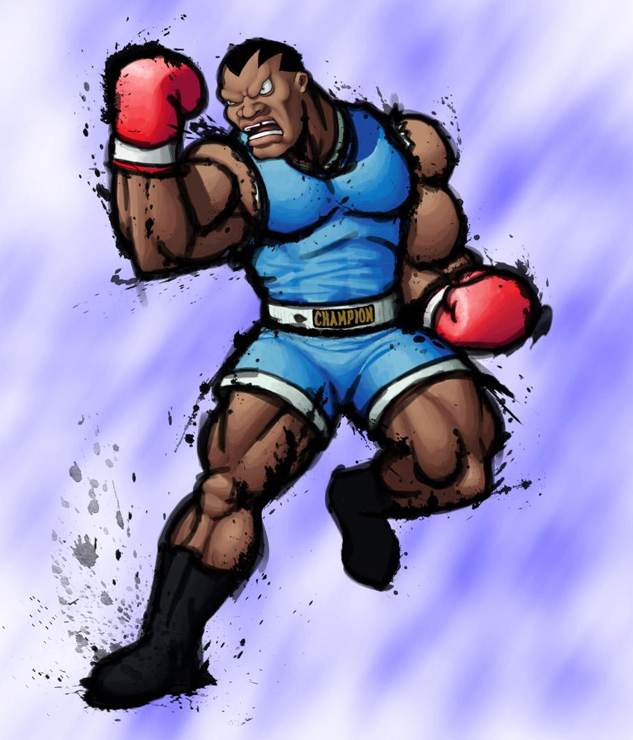 Street Fighter IV: M. BISON by Jiggeh on DeviantArt