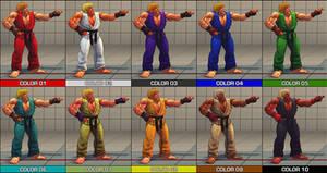 3rd Strike Ken pack - SF4 mod