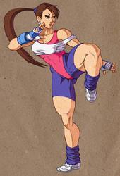 Hyper Beauty: Chun-Li by Jiggeh