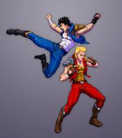 Super Dragon Bros. by Jiggeh