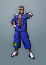 Fighting game character design 02