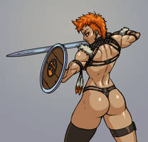 Bikini armor by Jiggeh