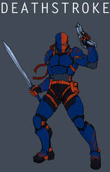 Deathstroke by Jiggeh