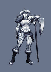 Barbarian (F) by Jiggeh