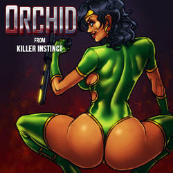 O is for Orchid by Jiggeh