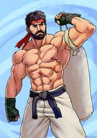 Street Fighter V: RYU by Jiggeh