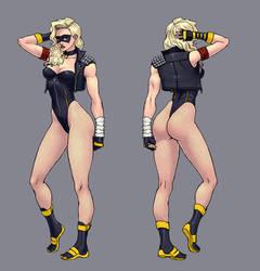 Black Canary by Jiggeh