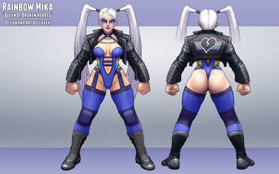 SFV Costume Design Contest: Rainbow Mika