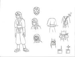 CP/SV OC: Masako the ninja proxy